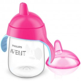 Avent Tasse à bec rose 340ml 18M+