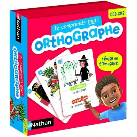 Orthographe - Nathan - dès 7 ans