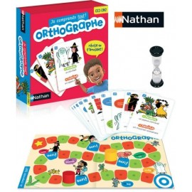 Orthographe - Nathan - dès 7 ans