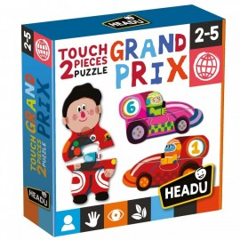 Montessori puzzle Grand Prix 2-5 ans - Headu