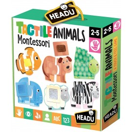 Montessori Tactile Animals 1-4 ans - Headu