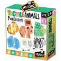 Montessori Tactile Animals 1-4 ans - Headu