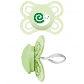 Mam sucette silicone Perfect Vert (0-6mois)