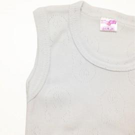 Body débardeur Blanc en coton (1 unité)