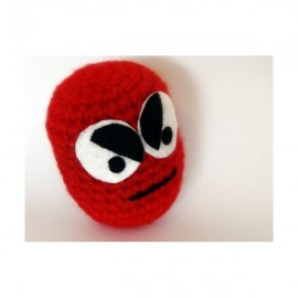 Monstre rouge au crochet