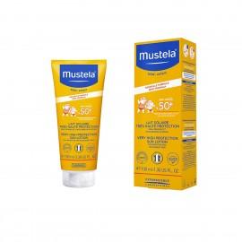 موستيلا لوشن لحماية الوجه من الشمس مع عامل وقاية مرتفع جداً +50