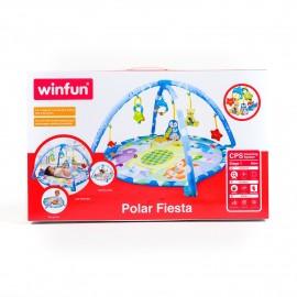 winfun Tapis de jeu des animaux polaires