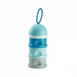 BEABA Boîte doseuse de lait empilable - bleu