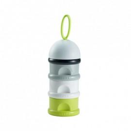 BEABA Boîte doseuse de lait empilable - vert