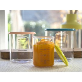 BEABA - Babyportion – set de 3 pots de conservation