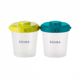 BEABA - Clip portions 6x 200 ml