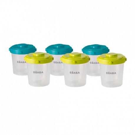 BEABA - Clip portions 6x 200 ml