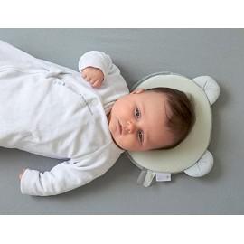 Cale tête bébé p'tit panda Gris