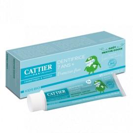 Cattier Bio - Dentifrice 7ans+ goût menthe douce 50ml