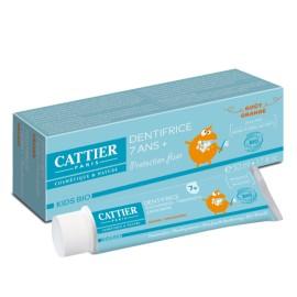 Cattier Bio - Dentifrice 7ans+ goût orange 50ml