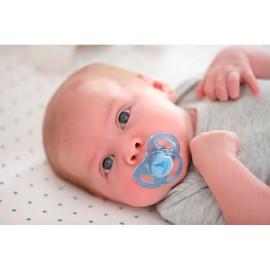 AVENT 2 mini-sucettes pour les nouveau-nés, 0-2mois, Vert