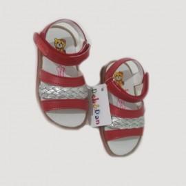 Sandales bébé fille - rouge