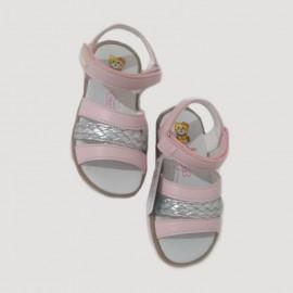 Sandales bébé fille - rose
