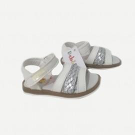 Sandales bébé fille - blanc