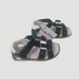 Sandales bébé fille - Bleu