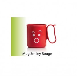 Tupperware - Tasses / Mug Smiley 300ml - Rouge