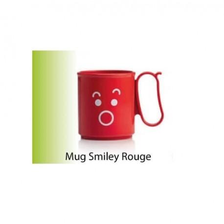 Tupperware - Tasses / Mug Smiley 300ml - Rouge