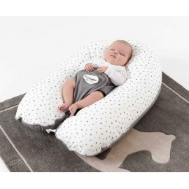 Cale bébé Panda Pad Premium Blanc
