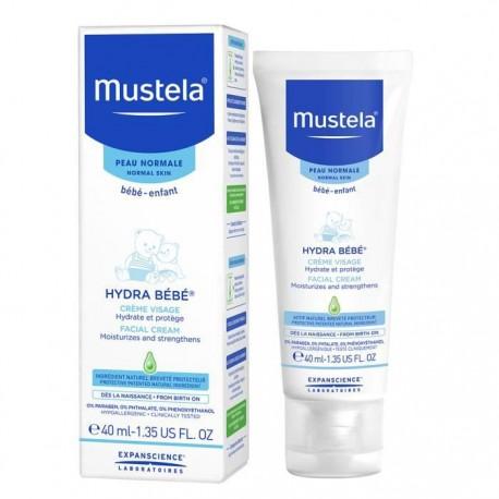 Mustela Hydra Bébé lait visage 40ml