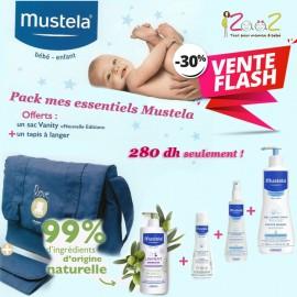 Pack mes essentiels Mustela 4 produits + Sac à langer offert