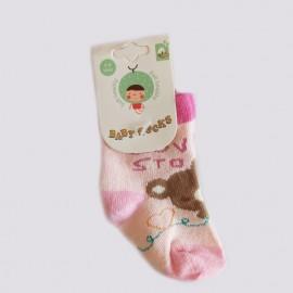 Chaussettes bébé coton 0-9 mois