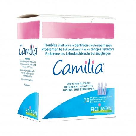 Camilia Poussée dentaire Solution Buvable Unidoses