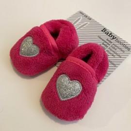 Chaussons pantoufles bébé 100% chauds 100% doux