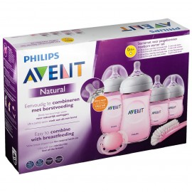 Avent Kit Biberon Nouveau-né Natural Rose