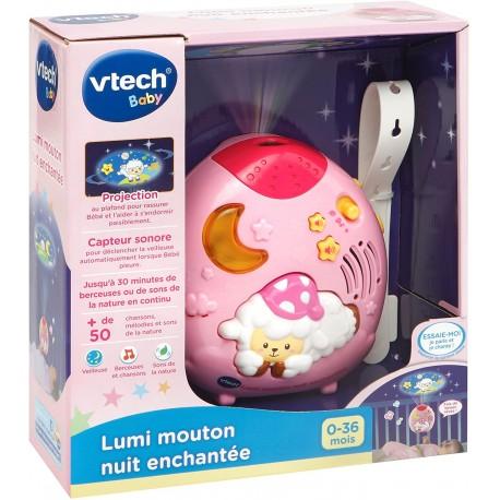 Lumi mouton nuit enchantée rose Vtech (0-24M)