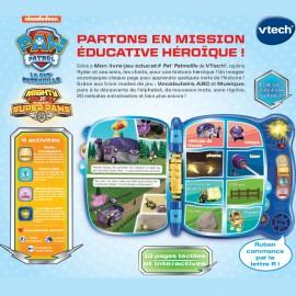 Vtech Pat Patrouille - Mon livre-jeu éducatif (3-6 ans)